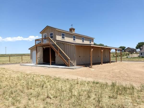 horse barn apartment - S&E Construction